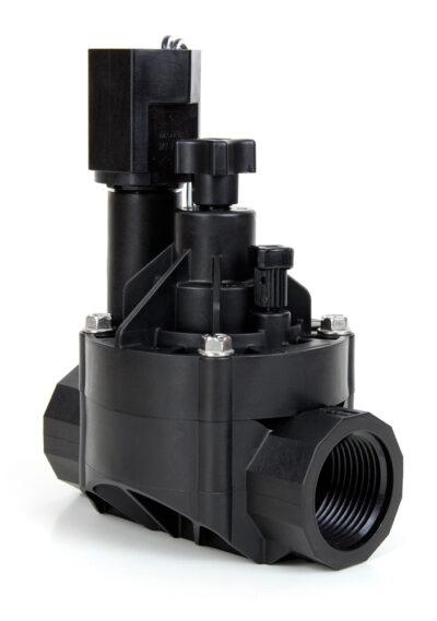 Клапан електромагнитен Rain Bird 100-HVF 24V AC с регулатор на дебита от ИРИГЕЙТ ООД Пловдив