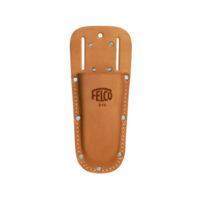 Плосък калъф от естествена кожа с гайки FELCO 910 от ИРИГЕЙТ ООД