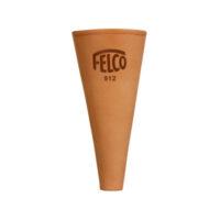 Плосък калъф от естествена кожа в конусовидна форма FELCO 912 от ИРИГЕЙТ ООД